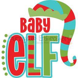 Baby Elf SVG