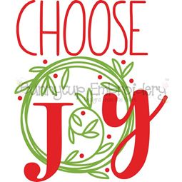 Choose Joy SVG