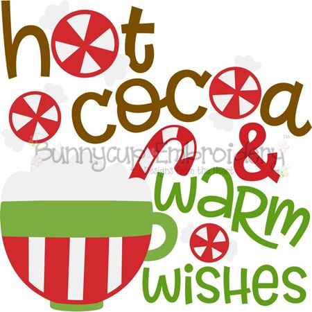 Hot Cocoa And Warm Wishes SVG