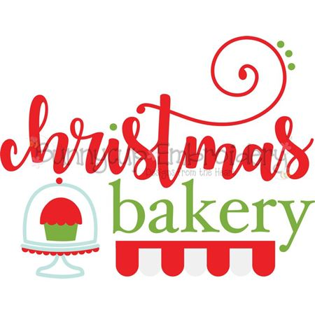 Christmas Bakery SVG