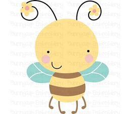 Cute Bumble Bee SVG