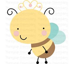 Cute Queen Bee SVG