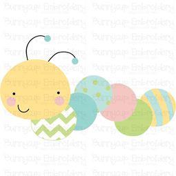 Cute Caterpillar SVG