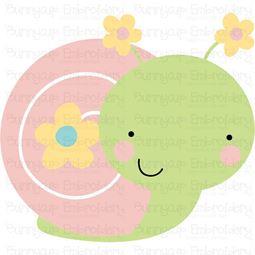 Cute Snail SVG