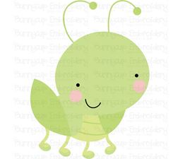 Cute Grasshopper SVG
