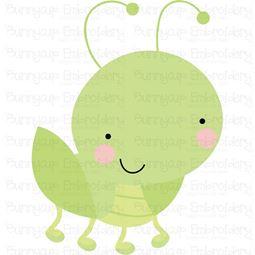 Cute Grasshopper SVG