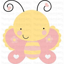 Cute Butterfly Front On SVG