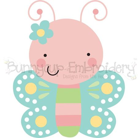 Front On Butterfly SVG
