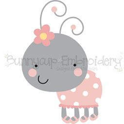 Frill and Flower Ladybug SVG