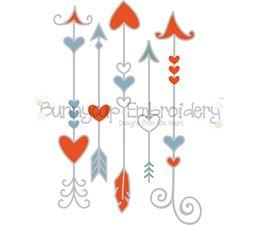 Heart Arrows SVG