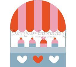 Cupcake Stand SVG