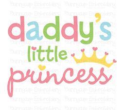 Daddys Little Princess SVG