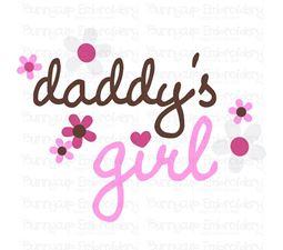 Daddys Girl SVG