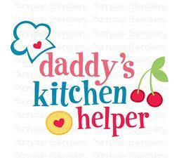 Daddys Kitchen Helper SVG