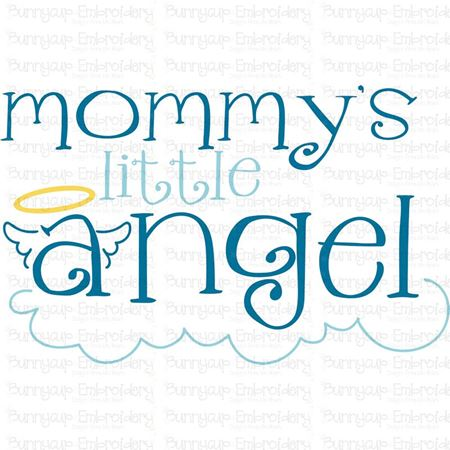 Mommy S Little Angel Svg Bunnycup Svg