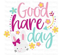 Good Hare Day SVG