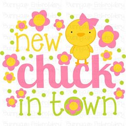 New Chick In Town SVG