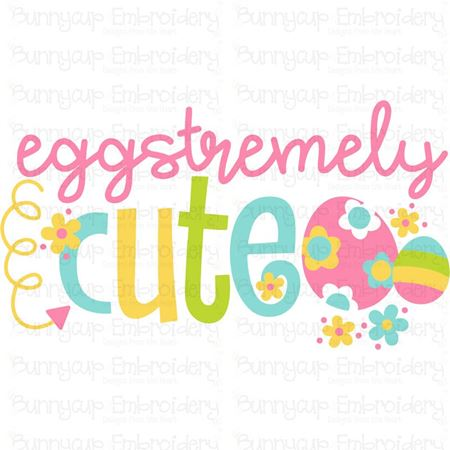 Eggstremely Cute SVG