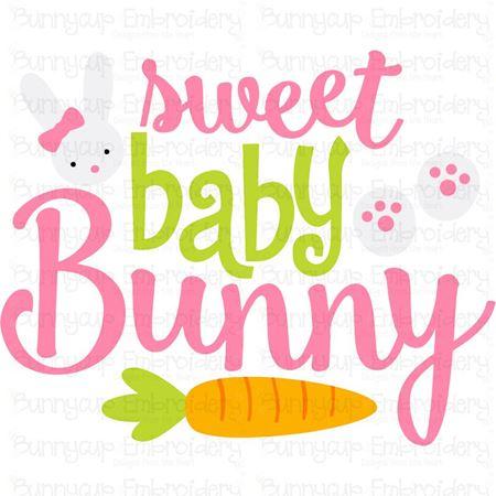 Sweet Baby Bunny SVG