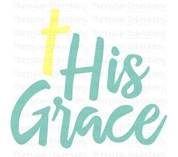 His Grace SVG