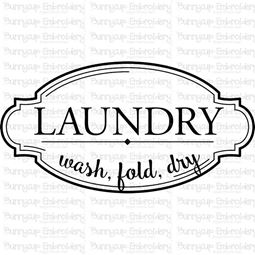 Laundry Wash Fold Dry SVG