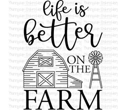 Life Is Better On The Farm SVG