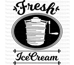 Fresh Ice Cream SVG