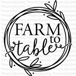 Farm To Table SVG