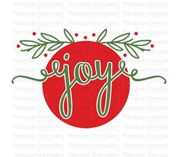 Joy Ornament SVG