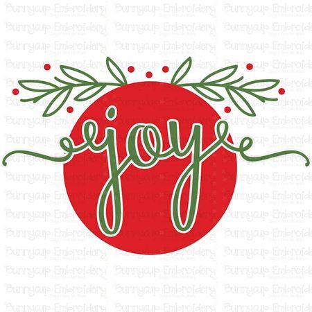 Joy Ornament SVG