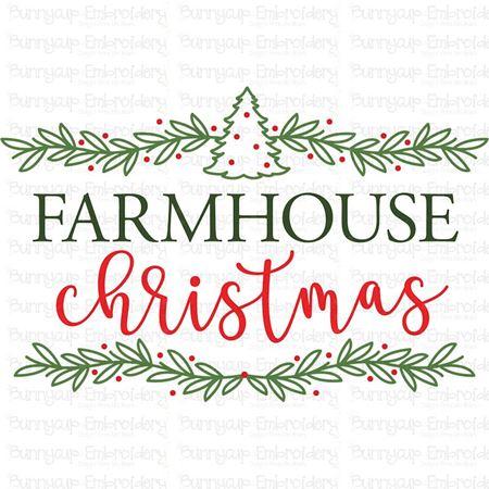 Farmhouse Christmas SVG