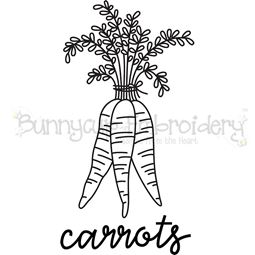Farmhouse Carrots SVG