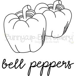 Farmhouse Bell Peppers SVG