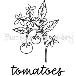 Farmhouse Tomato Vine SVG