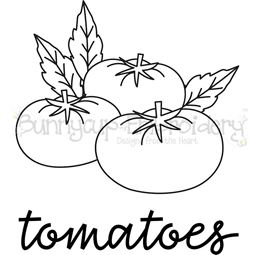 Farmhouse Tomatoes SVG