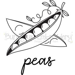 Farmhouse Peas SVG