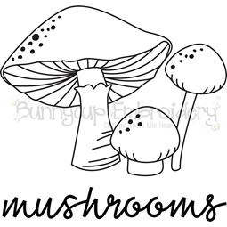 Farmhouse Mushrooms SVG