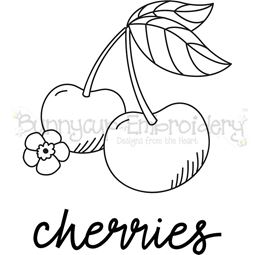 Farmhouse Cherries SVG