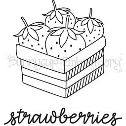 Farmhouse Strawberries SVG