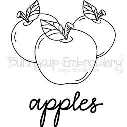 Farmhouse Apples SVG