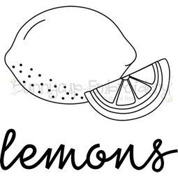 Farmhouse Lemons SVG