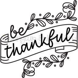Be Thankful SVG