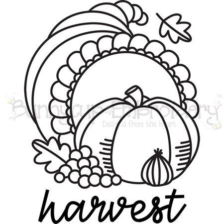 Cornucopia Harvest SVG