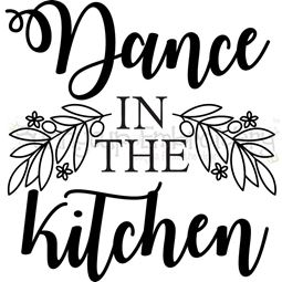 Dance In The Kitchen SVG
