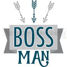 Boss Man SVG