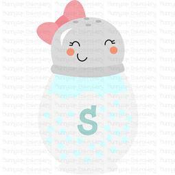 Salt Shaker SVG