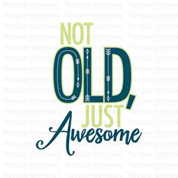 Not Old Just Awesome SVG