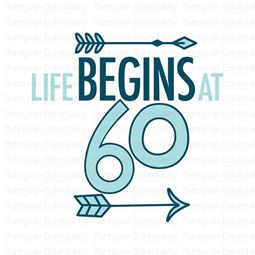 Life Begins at 60 SVG