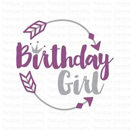 Birthday Girl SVG