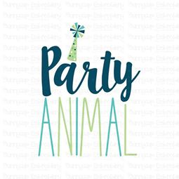 Party Animal SVG